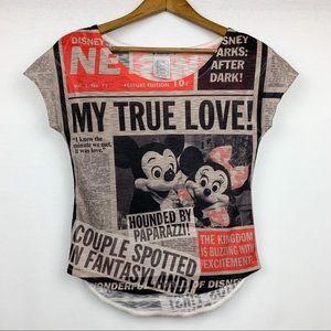 Disney Parks True Love Mickey Camera Shy Donald